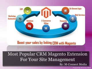 Most Popular CRM Magento Extension For Your Site Management