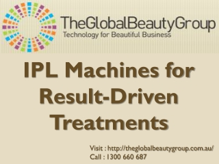 IPL Machines for Result-Driven Treatments
