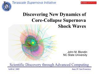 Terascale Supernova Initiative
