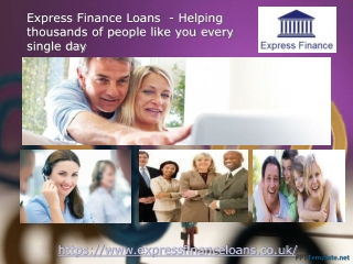 Express Finance Loans UK