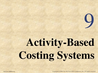 chapter 5: job costing