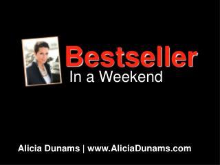 Alicia Dunams | www.AliciaDunams.com