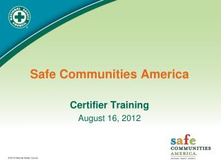 Safe Communities America