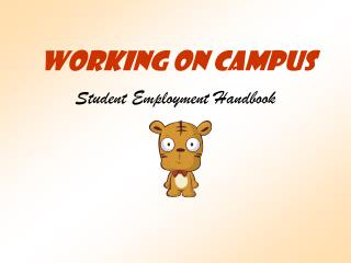 Working On Campus