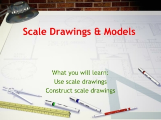 chapter 6 lesson 3 scale drawings  models pgs. 276-280