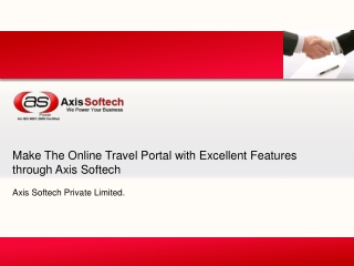 Make the Online Travel Portal with Excellent Features throug