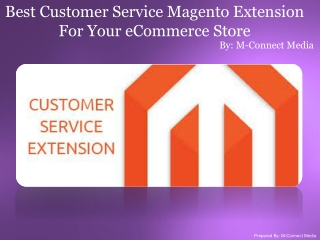 Most Popular Customer Service Magento Extension For Your Web