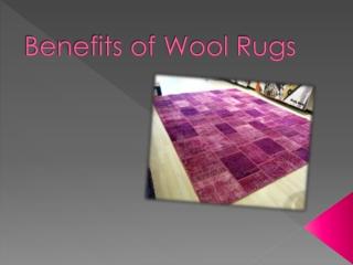 Benefits of Wool Rug
