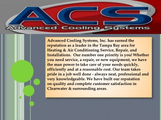 Air Conditioning Repairs by acs-advancedcooling