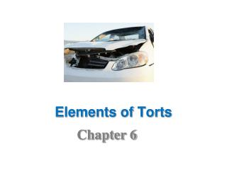 Elements of Torts