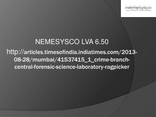 NEMESYSCO LVA 6.50