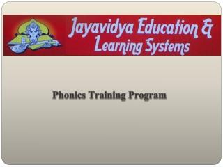 Phonics-Training-Program