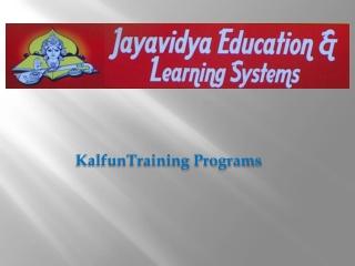 Kalfun-Training