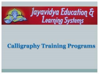 Calligraphy-Training