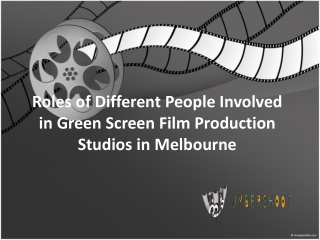 Different People in Green Screen Film Production Studios
