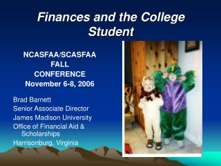 Finances and the College Student