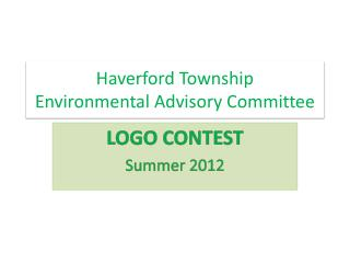 Haverford Township  Environmental Advisory Committee