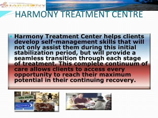 Harmony Treatment Center