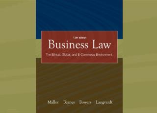 Regulation of Business