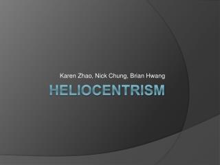 Heliocentrism