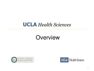 UCLA Health Sciences  Overview