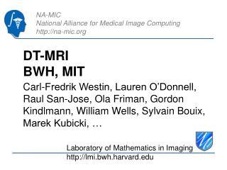 DT-MRI BWH, MIT