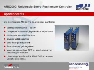 De intelligente AC Servo positioneer controler