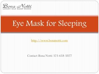 Comfortable Sleeping Eye Mask Shop