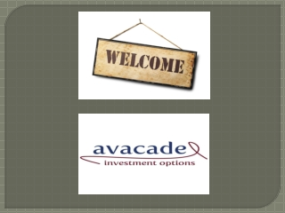 Make Money through Alternative Investments offered by Avacad