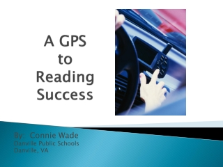 introduction to reading: the reading process reading strategies