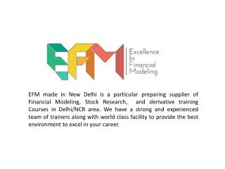 E-Fm Courses in Delhi
