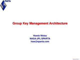 Group Key Management Architecture