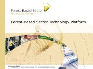 Forest-Based Sector Technology Platform