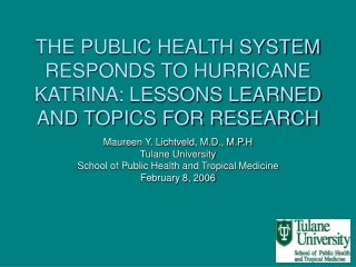 strengthening public health policy and practice: recent evidence ...