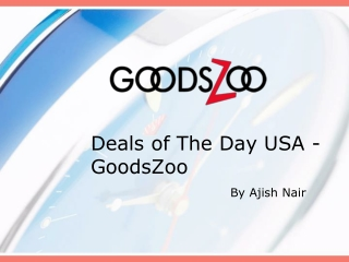 Deals of The Day USA - GoodsZoo