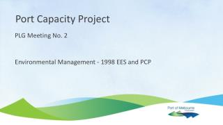 Environmental Management - 1998 EES and PCP
