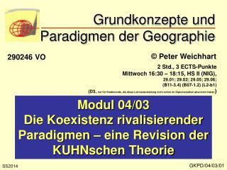 Grundkonzepte und Paradigmen der Geographie