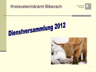 Kreisveterinäramt Biberach
