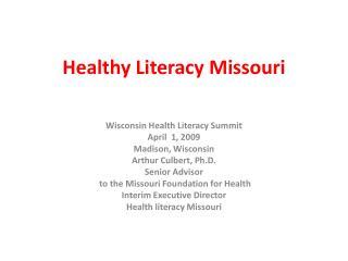 Healthy Literacy Missouri