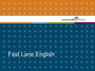 Fast Lane English