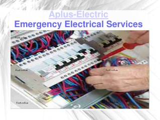 Electrical Repair and Emergency Electrician Services | Denver
