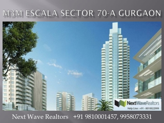 M3M Escala Gurgaon 2 3 4 BHK Apartments