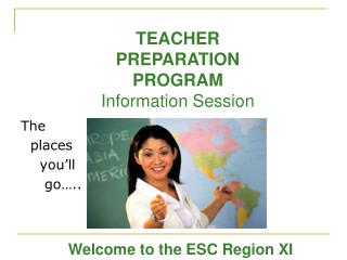 TEACHER  PREPARATION  PROGRAM Information Session