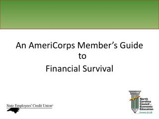 An AmeriCorps Member's Guide to Financial Survival