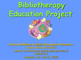 Bibliotherapy Education Project