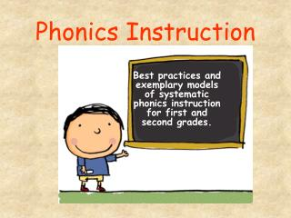 Phonics Instruction