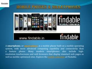 Latest smartphones in India