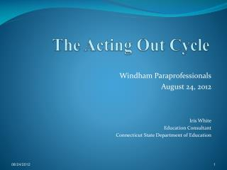 The Acting Out Cycle