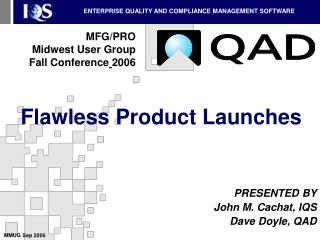 Flawless Product Launches