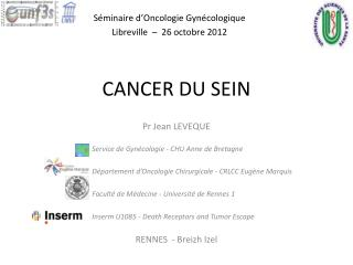 CANCER DU SEIN